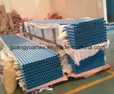 Electrostatic Painting Aluminium Pipes for Running Air 6060 T5