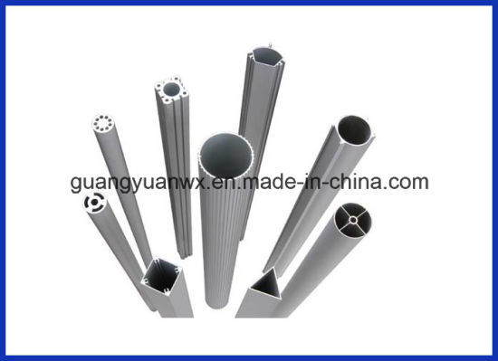 Silver Anodized 6063 T5 Aluminum Extrusion Profile for Solar