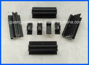 6063 T 5 Aluminum Extrusion Profile Tube/Pipes with Machining and Anodizing
