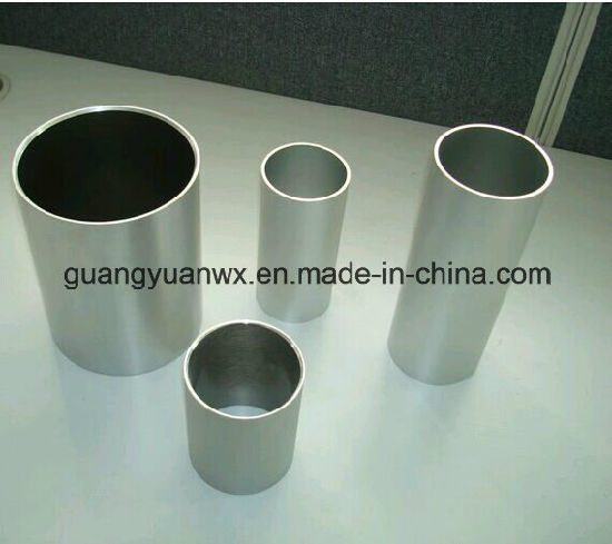 Anodized Aluminium Extruded Round Tube/Tubing/Pipes for Solar