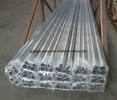 High Quality Polished Aluminium Tube 6060 for Equipment