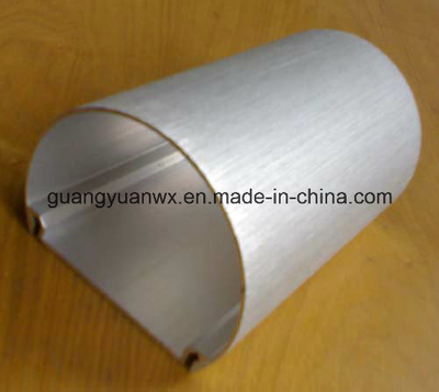 2024 Silver Oval Anodized Aluminium Machined Tube