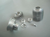 Large Extruded Aluminum Machining Parts for Door Frame