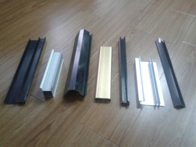 custom elliptical drawn aluminum tube