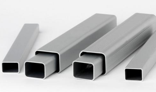 Thick Wall Black Rectangular Aluminum Seamless Pipe