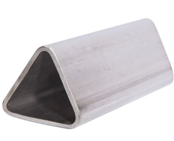 Formable Triangular Quarter Inch Cold Drawn Aluminium Tube
