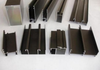 Swaged Black Metric Aluminum Tube Profiles