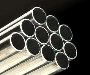 Metric Ribbed Cold Drawn Aluminium Tube