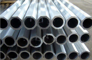 Octagon Ribbed Cold Drawn Aluminium Tube